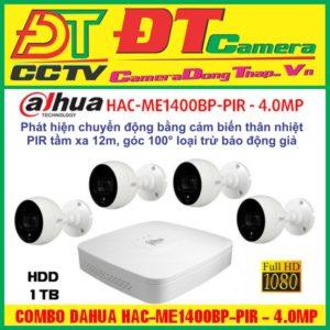 Combo Dahua HAC-ME1400BP-PIR